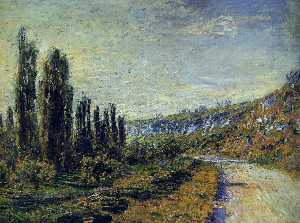 The Road from Vetheuil