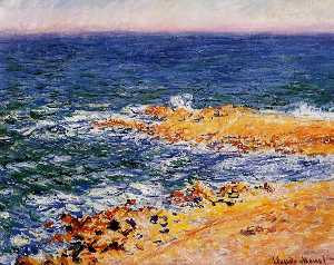 The Sea in Antibes