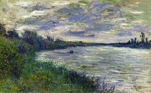 The Seine near Vetheuil, Stormy Weather