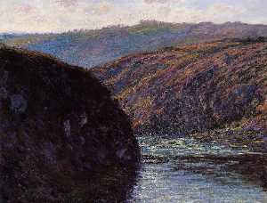 Valley of the Creuse, Afternoon Sunlight