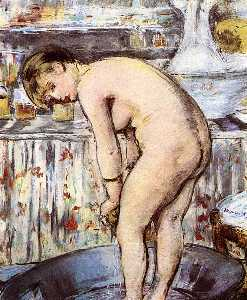Woman in the Tub