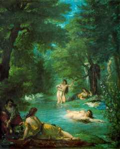 Femmes turques au bain