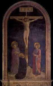 Crucifixion avec st . Dominic