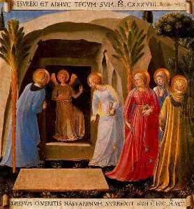 Las Santas mujeres en el sepulcro 1