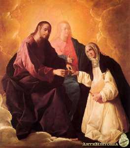 Desposorios místicos de Santa Catalina de Siena