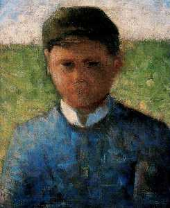 The Little Peasant in Blue