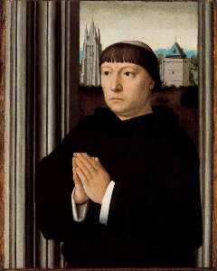 An Ecclesiastic Praying