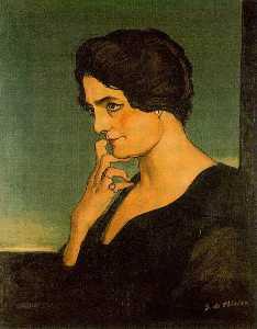 Portrait of madame Gartzen