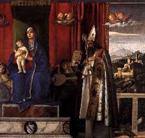 Barbarigo Altarpiece (detail)