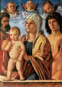 Madonna with Child and Saints Peter and Sebastian