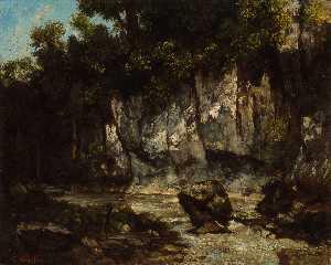 A Waterfall in the Jura