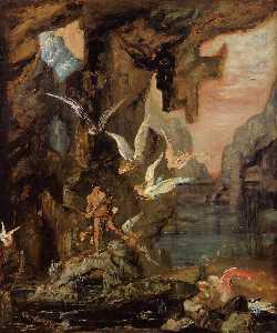 Hercules at Lake Stymphalos