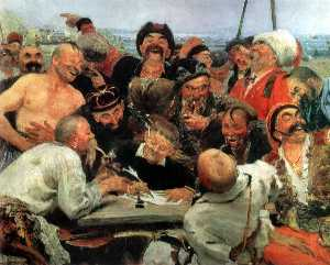 The Reply of the Zaporozhian Cossacks to Sultan Mahmoud IV (study)