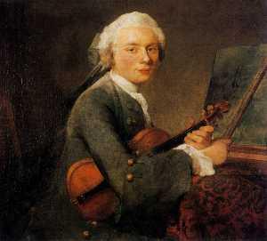 Portrait de Charles Godefroy, dit Le Jeune Homme au violon