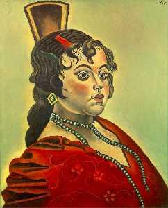 Retrato de una bailadora española
