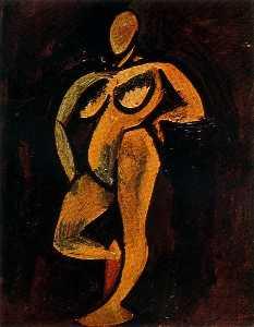 Desnudo de pie 1