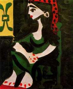 Jacqueline's portrait (profile) 2