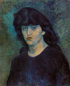 Porträt von Suzanne Bloch 1