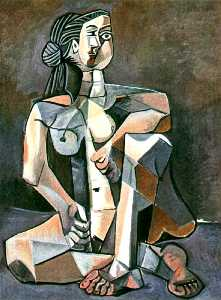 Seated woman 7