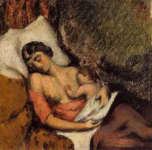 Hortense Breast Feeding Paul