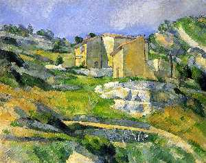 Houses in Provence - the Riaux Valley near L'Estaque