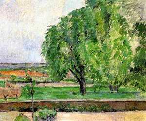 Landscape at the Jas de Bouffin