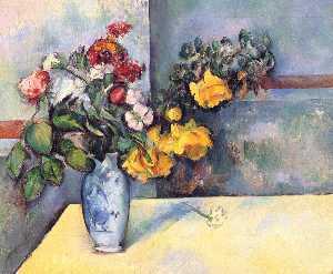 Still Life Flowers in a Vase