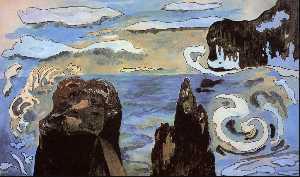 At the Black Rocks (aka Rocks by the Sea)