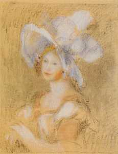 Amelie Dieterie in a White Hat