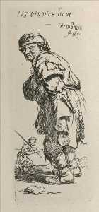 A Beggar. and a Companion Piece, Turned to the Left