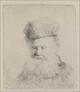 A Man with a Large Beard and a Low Fur Cap