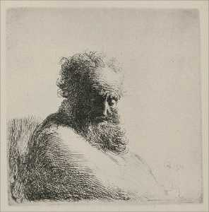 Bust of an Old Man with a Large Beard