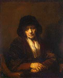 Portrait of an Old Woman 1