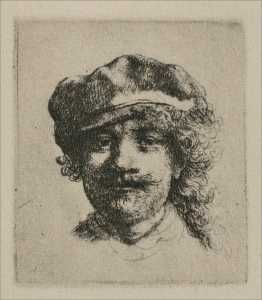 Rembrandt with Haggard Eyes