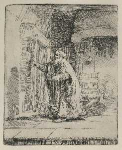 Tobit Blind, with the Dog