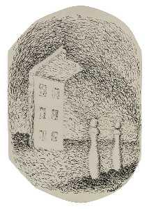 La maison avec deux quilles