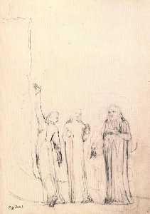 Dante, Virgil and Cato