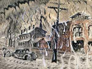 Main Street, Salem, Winter Day 1