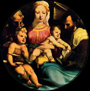 Holy Family with St. John and a donor