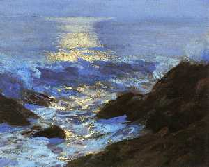 Seascape Moonlight