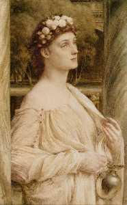 A Vestal Portrait Of Miss Violet Lindsay