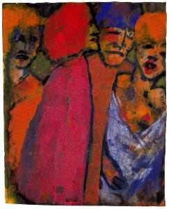 Encounter (Four Figures)