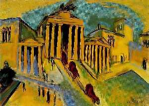 The Brandeburg gate, Berlin