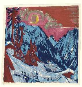 Winter Moonlit Night
