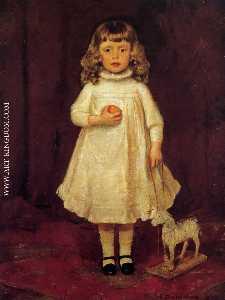 F . B . Duveneck als kind