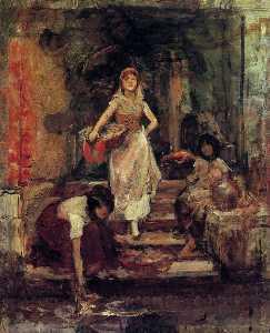 Washerwomen, Venice
