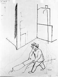 Man With Wheelbarrow