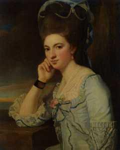 porträt von einem lady