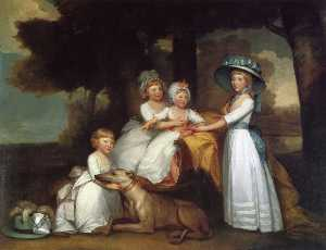The Children of the Second Duke of Northumberland