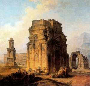 Triumphal Arch and Amphitheater at Orange